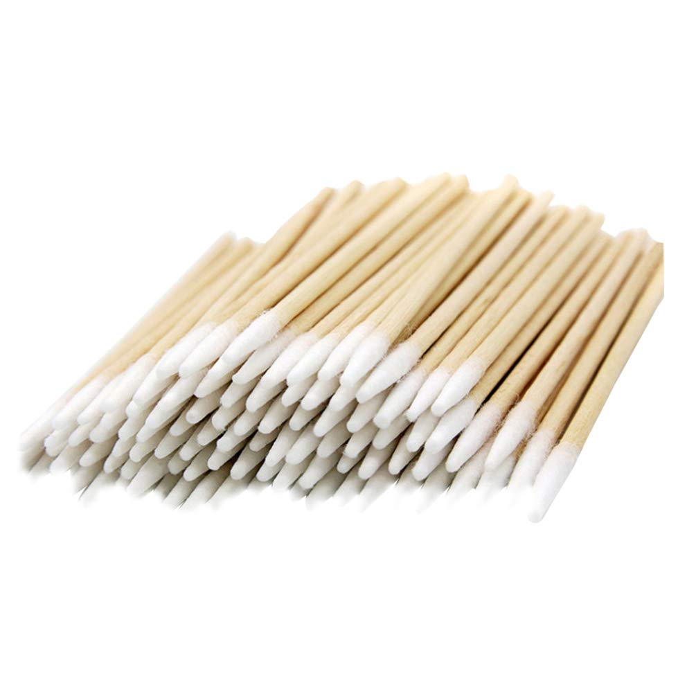 Lurrose 400pcs specialty shop Ranking TOP10 Pointed Head Wooden Swabs Cot Microblading Cotton