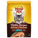 Meow Mix Bistro Recipes Dry Cat Food, Grilled Salmon Flavor, 12 Pounds