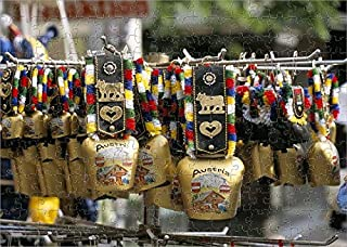 robertharding 252 Piece Puzzle of Cowbells are a Traditional Austrian Souvenir, Austria, Europe (1131451)