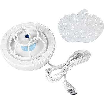 Mini Dishwasher, USB Ultrasonic Dishwasher Household Dish Washing Machine Small Installation-free Dishwasher Saves Space Mini Dishwasher (Blue)