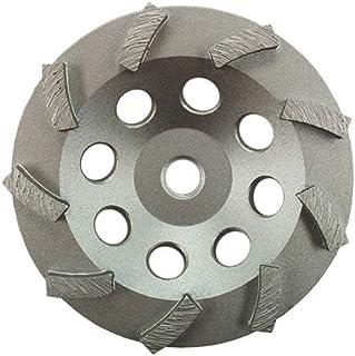 "3 Pack - Diamond Grinding Cup Wheel Turbo Swirl 9 Segs 5/8-11 Thread (4.5"")"
