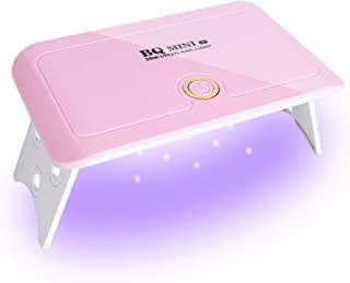 UV LED Nail Dryer, 36W Mini Gel Nail Curing lamp Portable Curing Light for Gel Nail Polish - BQ Mini Pink