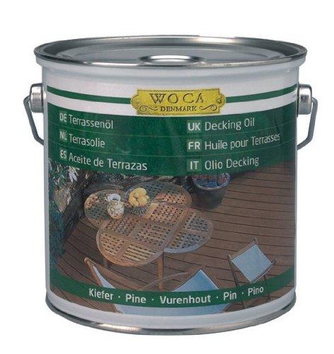 WOCA Woca Terrassenöl 2,5 Liter Teak