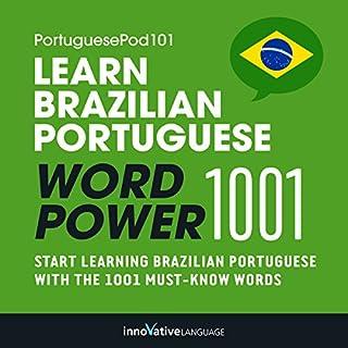 Learn Brazilian Portuguese - Word Power 1001 cover art