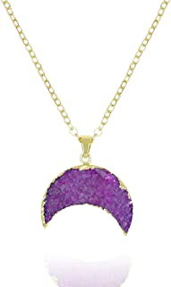 Best half moon gold necklace Reviews