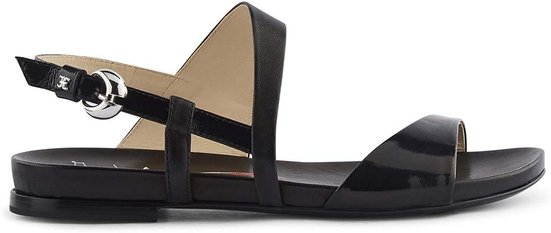Fabi Damen Schuhe HARRODS + Parma Schwarz