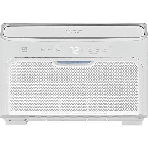 Frigidaire GHWQ123WC1 Gallery 12,000 BTU Inverter Quiet Temp Smart Room Air Conditioner, 14.000, White