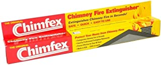 Chimfex By Orion Safety Products - CSIA Approved Chimney Fire Extinguisher - Safe, Quick and Easy - Stops Chimney Fires In Homes in Under 22 Secs. - MADE IN USA