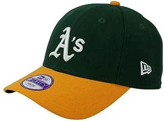 New Era(ニューエラ) MLB オークランド・アスレチックス Youth Pinch Hitter キャップ (グリーン)