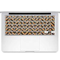 igsticker MacBook Air 13inch 2010 ~ 2017 専用 キーボード用スキンシール キートップ ステッカー A1466 A1369 Apple マックブック エア ノートパソコン アクセサリー 保護 050583