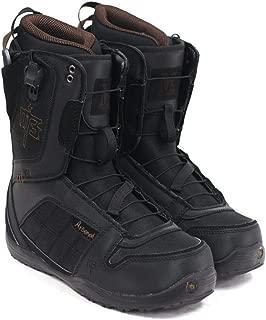M3 Millenium Three Arsenal Mens Black Brown Snowboard Boots Size 7
