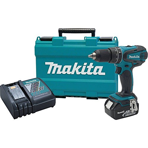 Makita XPH012 18V LXT Lithium-Ion Cordless 1/2-Inch Hammer Driver-Drill Kit with One Battery- DIscontinued by Manufacturer (Discontinued by Manufacturer) (Renewed)