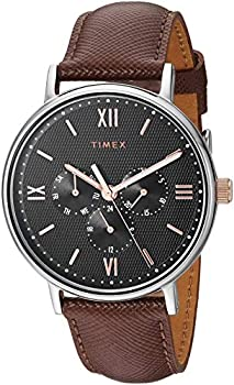 Timex Southview Multifunction Men's 41mm Leather Strap Watch
