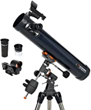 Celestron - AstroMaster 76EQ Newtonian Telescope - Reflector Telescope for Beginners - Fully-Coated Glass Optics - Adjusta...