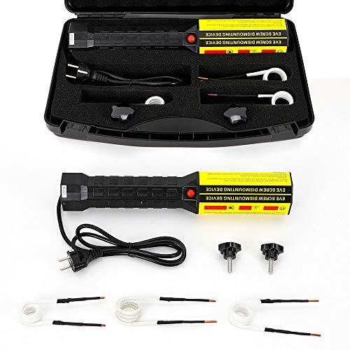 1000 W - Calefactor de inducción sin llama, kit de 220 V, mini calefactor magnético de inducción, inducción, inducción, accesorios sin llamas
