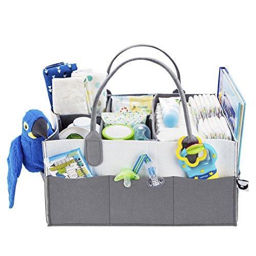 Baby Diaper Caddy Organizer -...