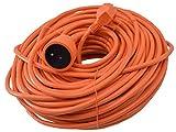 I-Watts I-RAJ3G15-50M Alargador eléctrico 50 m, color naranja