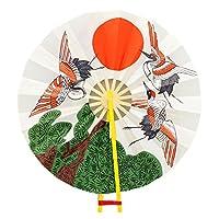 アルデ オキナ 上棟セット用扇のみ 鶴と日の丸 arde3116020b