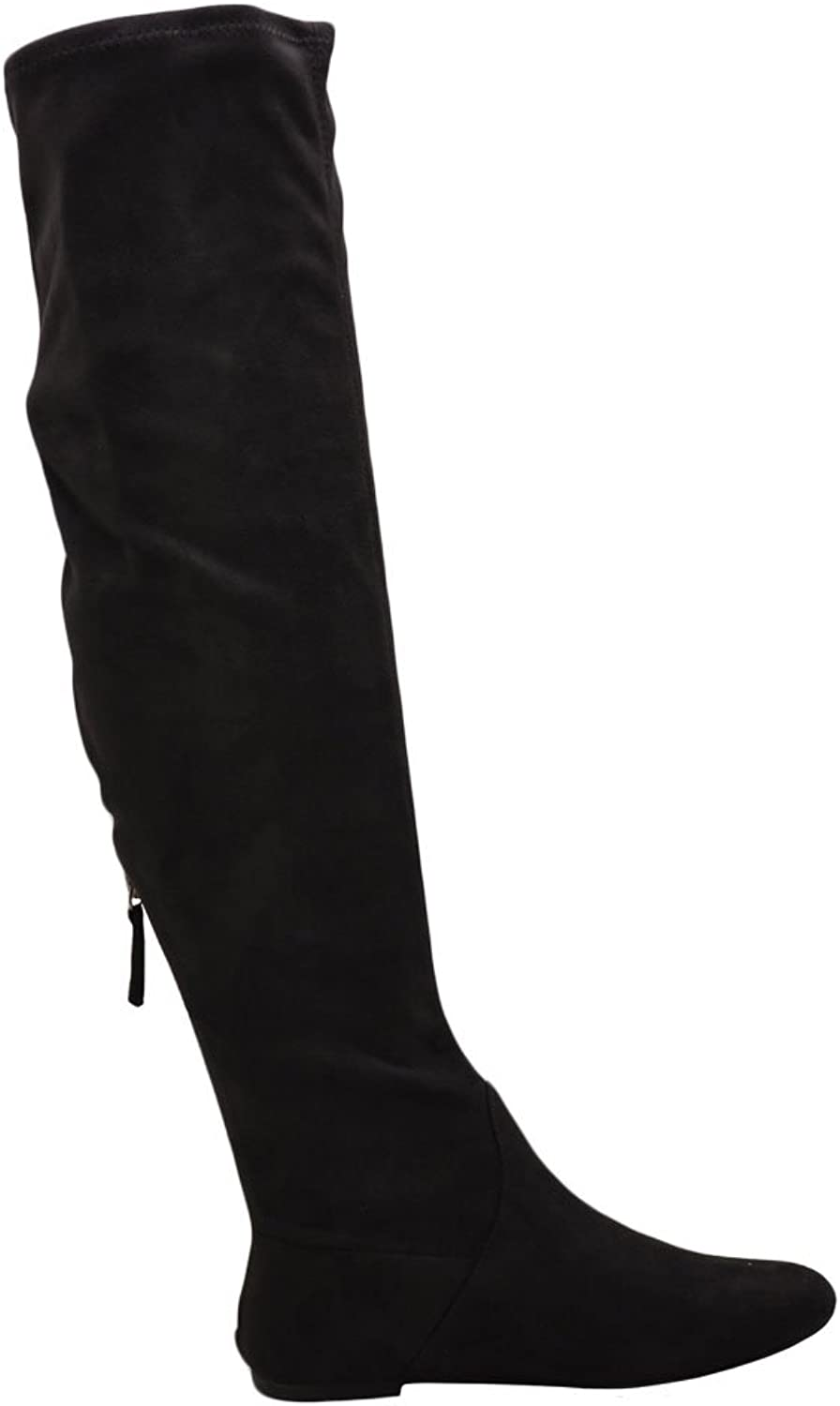Soda Tone-S Women's Round Toe Knee High Boots