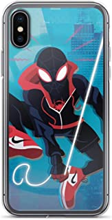Spider-Man Avengerss Superhero Stan-Lee Comic Movie Comic Into Spider Verse New Shockproof Clear Case for iPhone Xs Max
