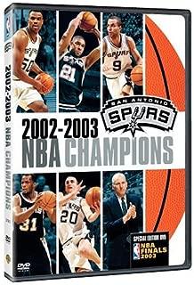 2002-2003 NBA Champions: San Antonio Spurs