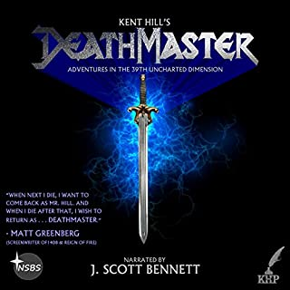 Deathmaster audiobook cover art