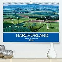 Harzvorland Luftbilder 2022 (Premium, hochwertiger DIN A2 Wandkalender 2022, Kunstdruck in Hochglanz): Beeindruckende Luftaufnahmen aus der Vorharz-Region (Monatskalender, 14 Seiten )