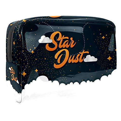 Borse da Toilette,Stardust ,make up borse da viaggio,Beauty Case da Viaggio,Cosmetici Trucco Pochette da Toilette Organizer