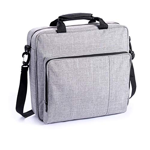 eLUUGIE Travel Carrying Case for Sony Playstaion PS4 PRO Console Multifunctional Travel Storage Bag Handbag/Shoulder Bag for PS4 System and Accessories PS4 Pro/PS4/PS4 Slim/Xbox one