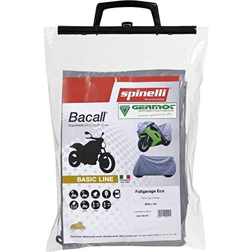 Spinelli Basic Line PVC Garage Pliable à partir de 1000 ccm – Gris