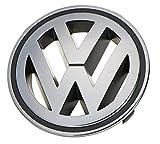 Recambios Originales Volkswagen Emblema parrilla delantera 150 mm (Golf 5, Golf 5 4 motion, Passat CC, Passat Variant, Tiguan)