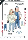 Schnittmuster Hits for Kids Nr. 822'Babystrampler - Leichter Schwierigkeitsgrad (68-74)