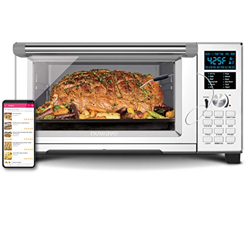 NuWave Bravo XL Smart 1800-watt Convection Oven with Integrated Digital