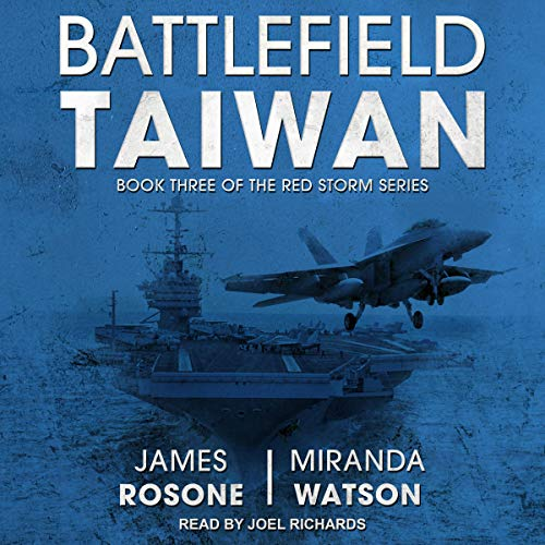 Battlefield Taiwan audiobook cover art