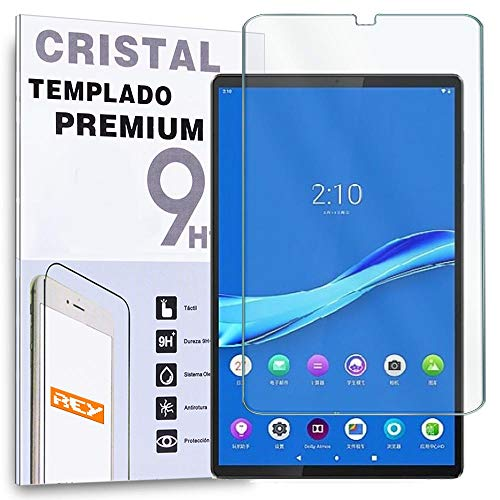 REY Protector de Pantalla para Tablet Lenovo Smart Tab M10 FHD Plus 10,3' TB-X606FA, Cristal Vidrio Templado Premium