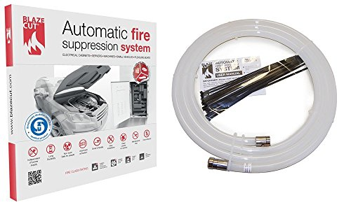 BlazeCut Automatic Fire Suppression System 9' TV300FA, Automotive Extinguisher