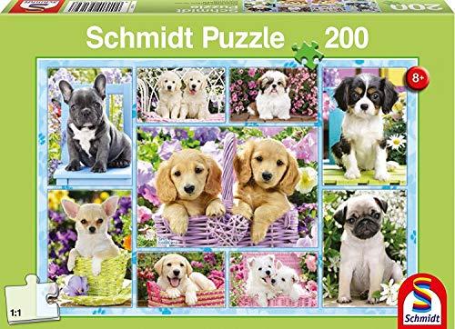 Schmidt Spiele 56162 200pieza(s) Puzzle - Rompecabezas (Jigsaw Puzzle, Fauna, 8 año(s), 432 mm, 291 mm, Caja)