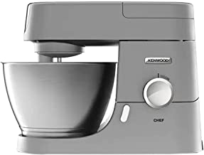 Kenwood | Chef Stand Mixer 1000W | KVC3100S | Benchtop Machine for Bread, Cake & Dough Preparation| Silver | 4.6L