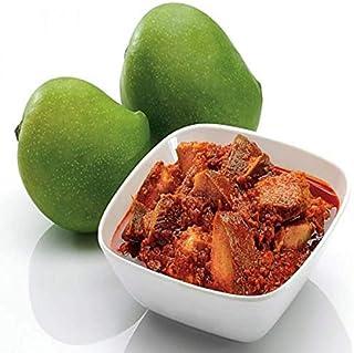 BSD Organics Mango Pickle/Pachranga Achar/Mangai Oorugai (50 Gram/ 1.7 Ounce)