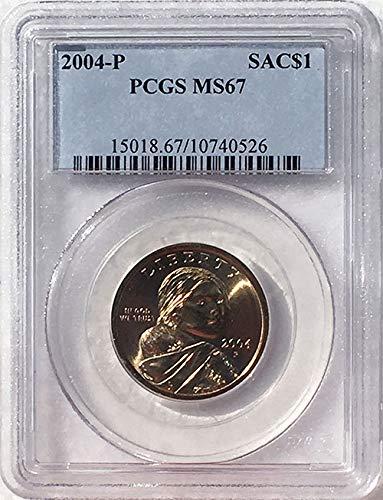 2004 P Sacagawea Dollar MS 67 Blue Label PCGS