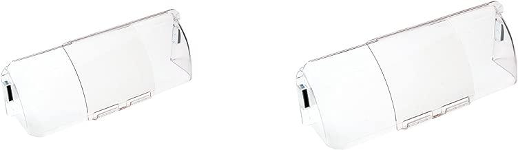 Frost King HD7 Premium Unbreakable Air Deflector, 2 Piece
