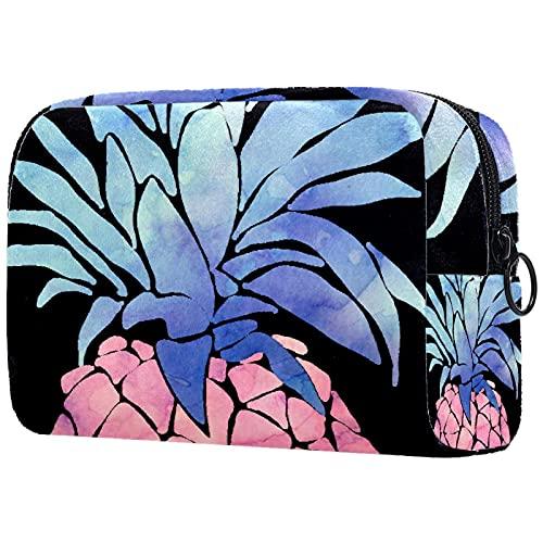 Bolsas de cosméticos para Mujeres, Bolsas de Maquillaje, neceseres espaciosos, Accesorios de Viaje, Regalos - Fruta Rosa