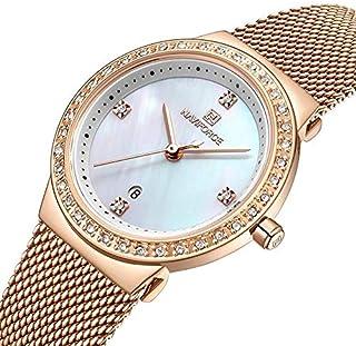 NAVIFORCE 5005 Crystal Casual Style Ladies Wrist Watch