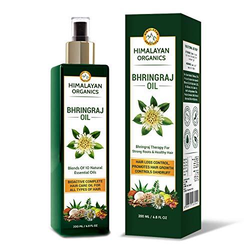 Himalayan Organics Bhringraj Oil for Hair Growth - 200ml |...