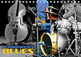 Klangbilder des Blues (Tischkalender 2021 DIN A5 quer): Stimmungsvolle Aufnahmen typischer Instrumente der Bluesmusik (Monatskalender, 14 Seiten )