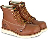 Thorogood 804-4655 Men's American Heritage 6' Emperor Toe, MAXWear Wedge Composite Safety Toe Boot, Tobacco Oil-Tanned - 8 D(M) US