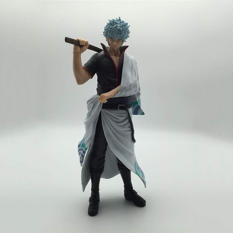 DYHOZZ Gintama Anime Statue Sakata Gintoki giocattolo modello PVC Anime Decoration Collezioni Crafts -8.6in Statua del Giocattolo