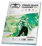 Ultimate Guard Bolsas para cómics,, Grandes (Actuales, Transparentes)