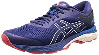 Asics Men's Gel-Kayano 25 Running Shoes,Blue (Indigo Blue/Cream 400) ,12 UK (48 EU) (B079J4TYN3) | Amazon price tracker / tracking, Amazon price history charts, Amazon price watches, Amazon price drop alerts