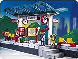 PLAYMOBIL 4382 - Bahnsteig / Haltepunkt